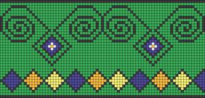 Alpha pattern #17505