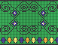 Alpha pattern #17506