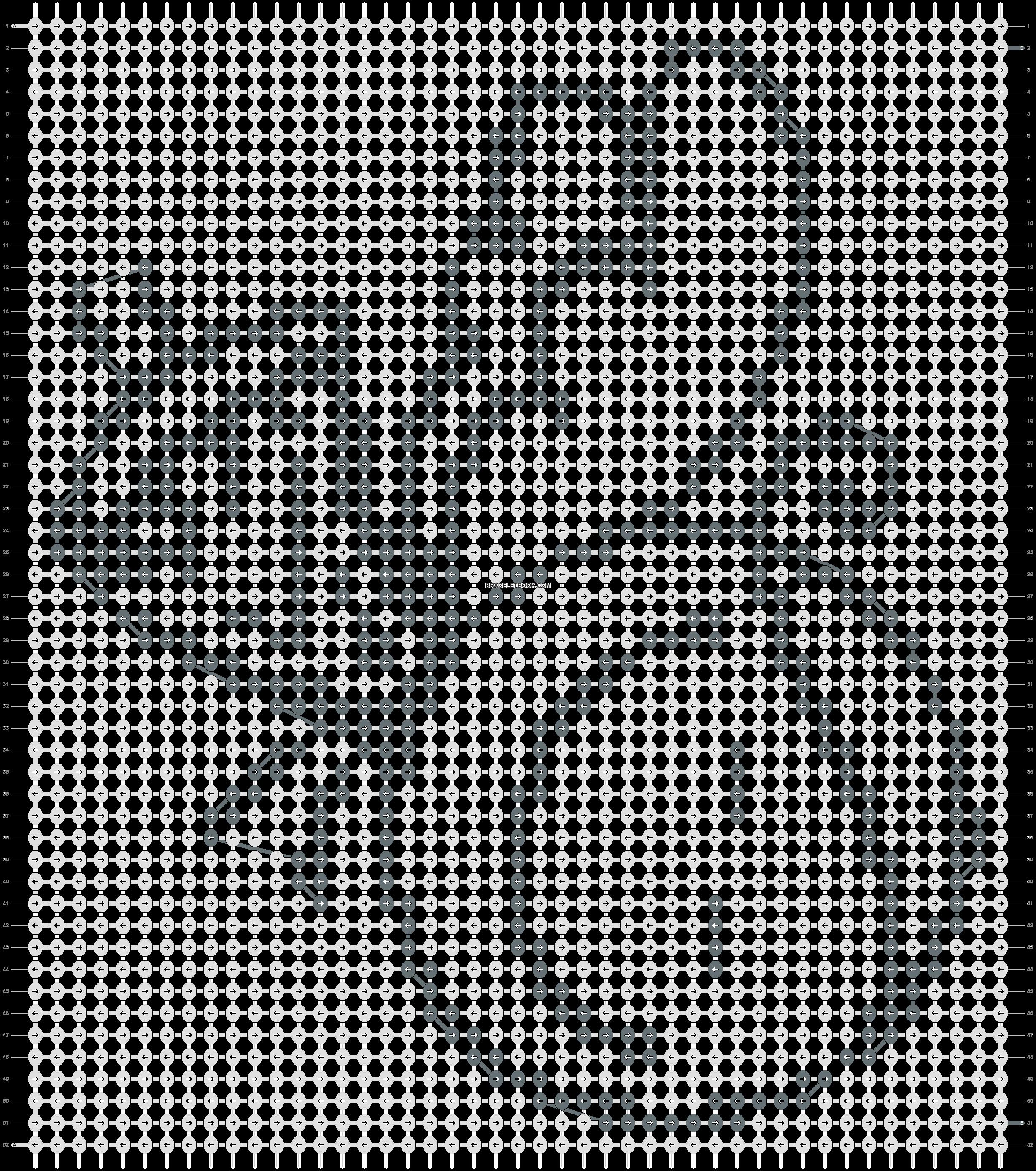 Alpha pattern #17507 pattern