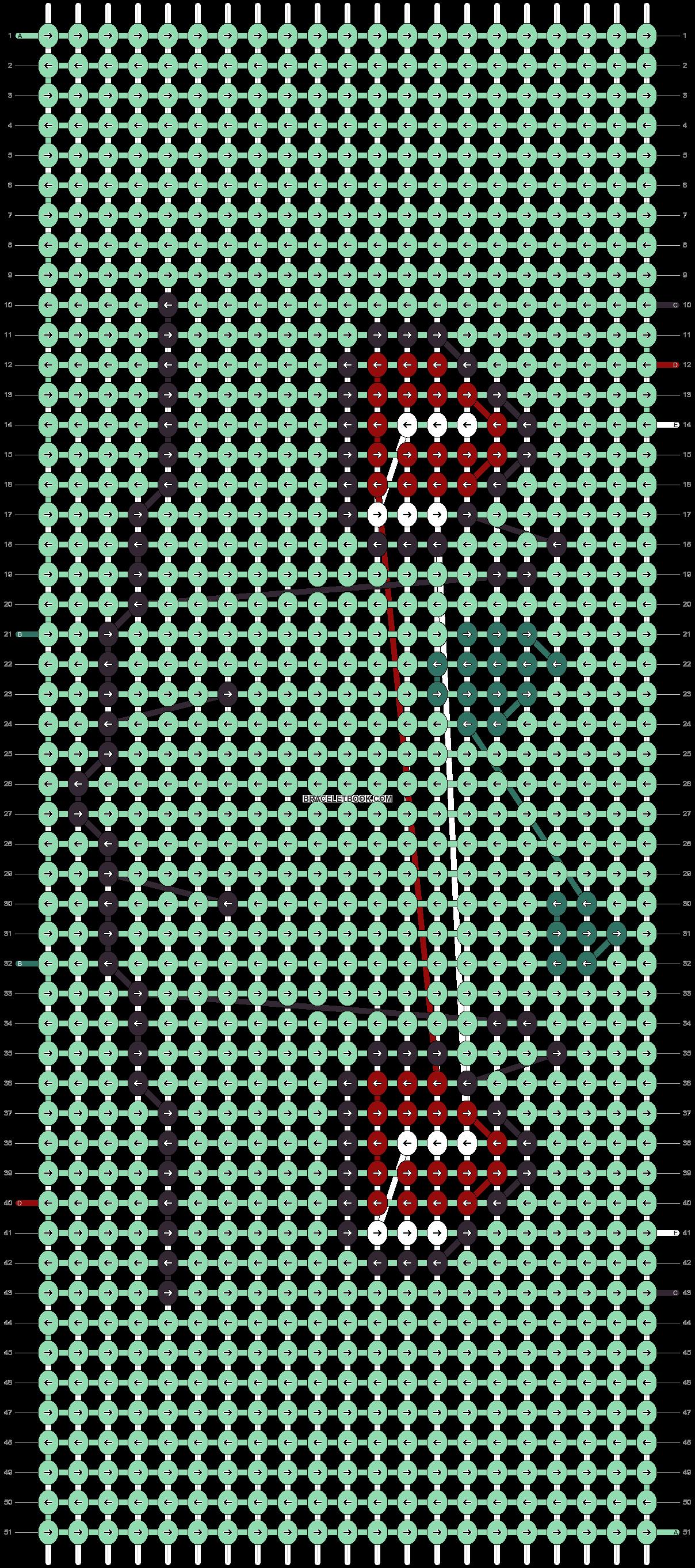 Alpha pattern #17514 pattern