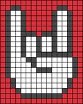 Alpha pattern #17527