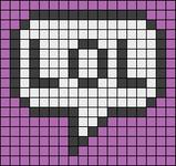 Alpha pattern #17530