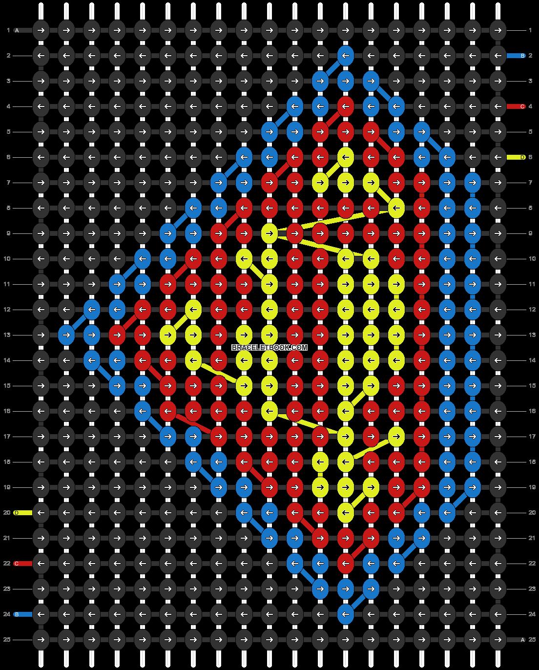 Alpha pattern #17531 pattern