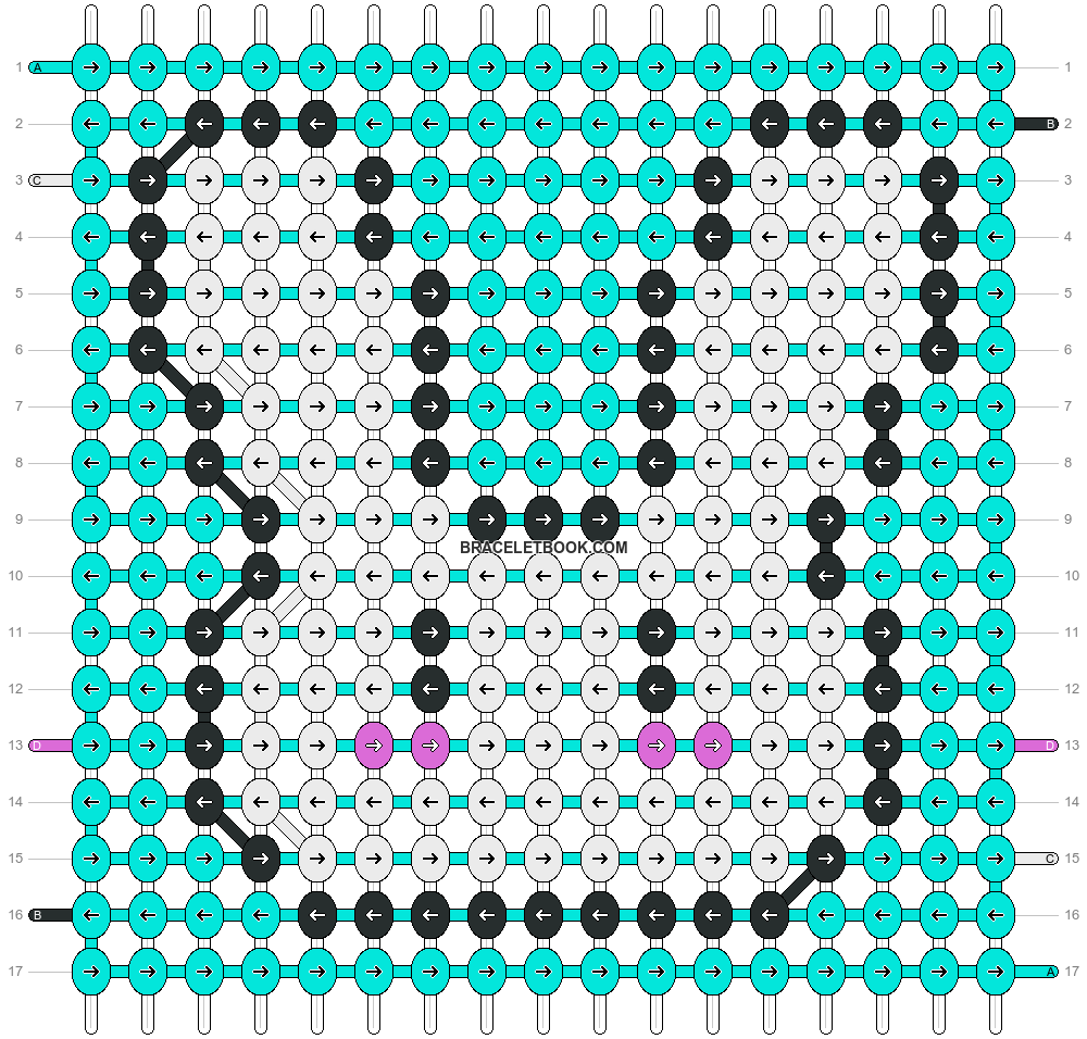 Alpha pattern #17532 pattern