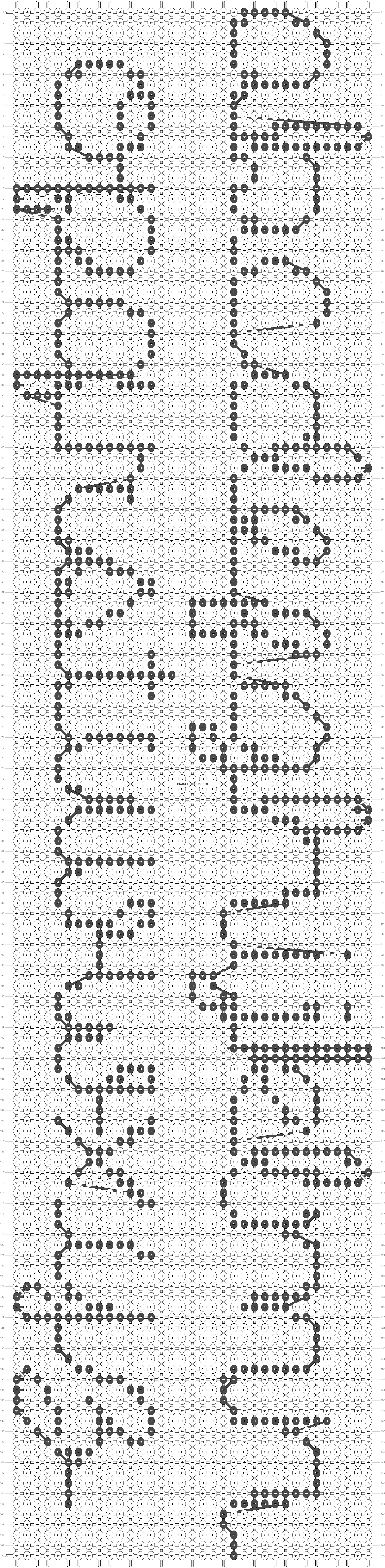 Alpha pattern #17535 pattern