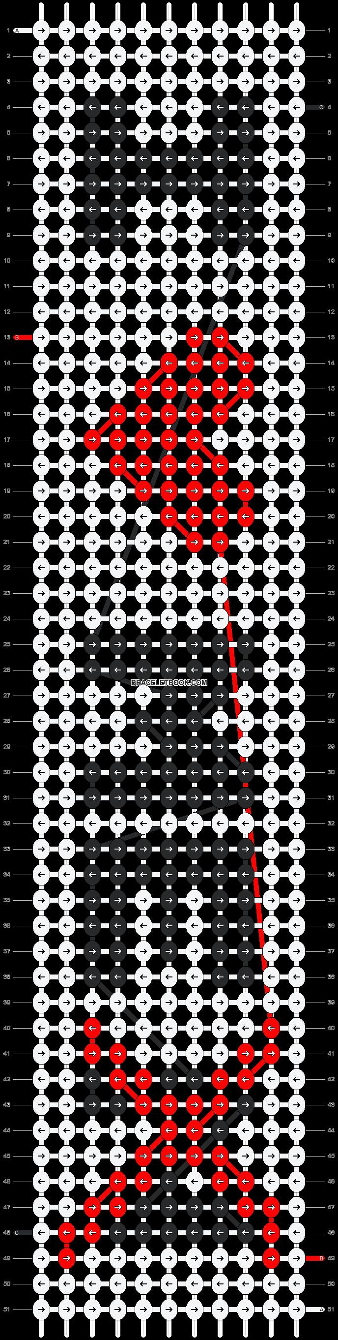 Alpha pattern #17536 pattern