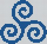 Alpha pattern #17537