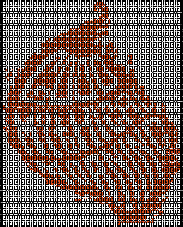 Alpha pattern #17538 pattern