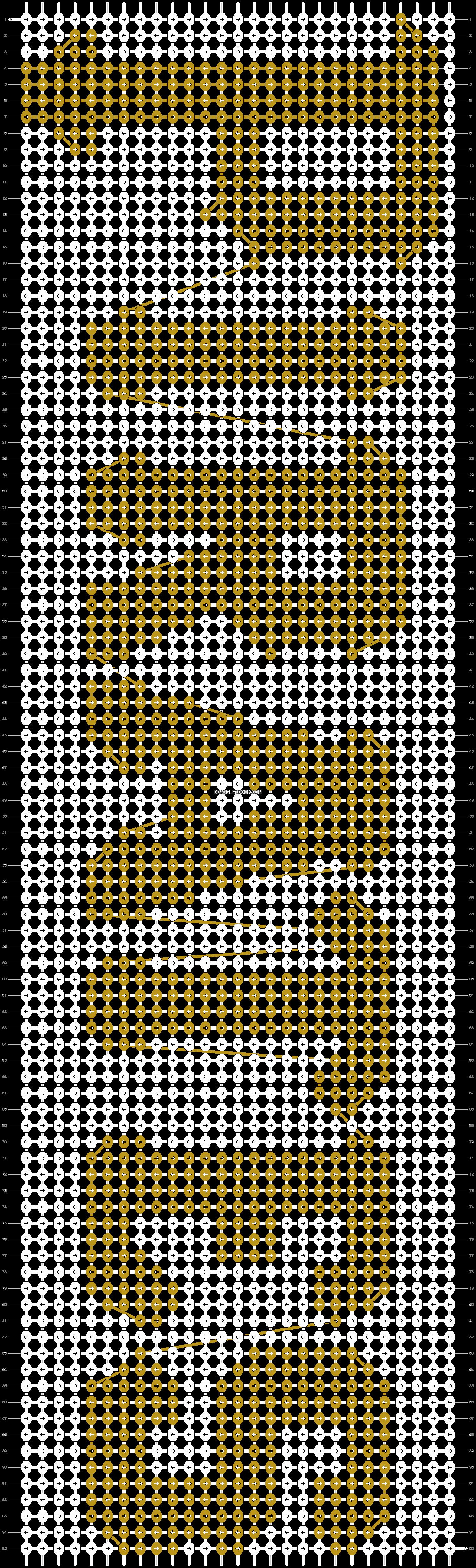 Alpha pattern #17546 pattern
