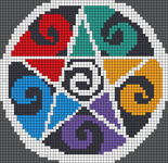 Alpha pattern #17548
