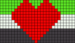 Alpha pattern #17550