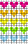 Alpha Friendship Bracelet Pattern #17576