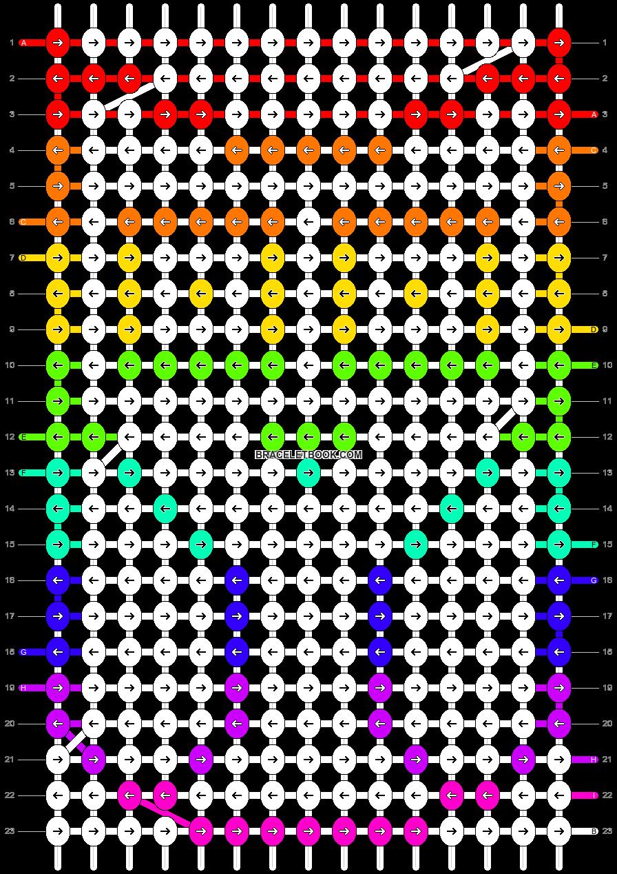 Alpha pattern #17578 pattern