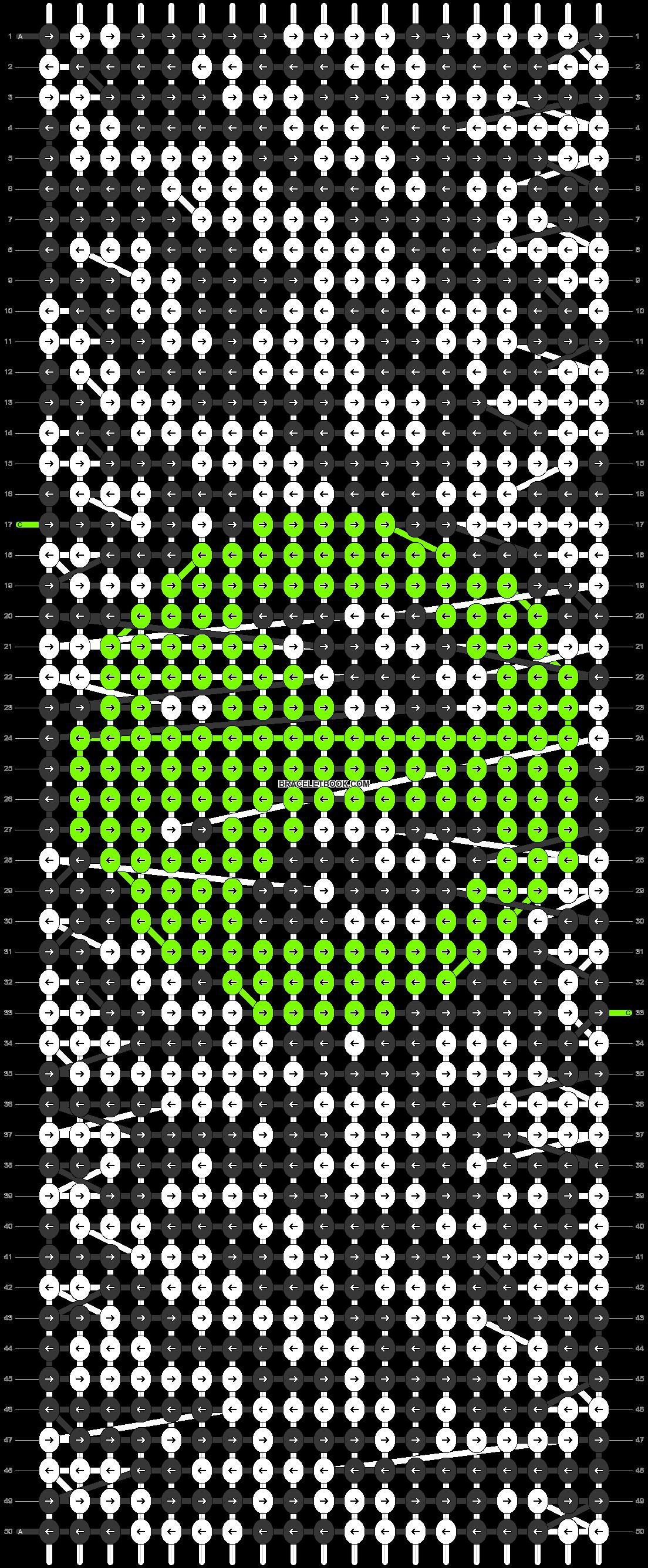 Alpha pattern #17582 pattern