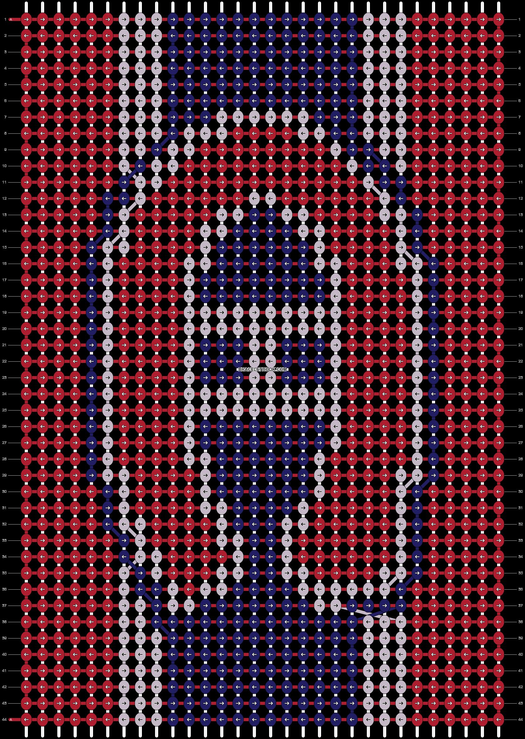 Alpha pattern #17583 pattern