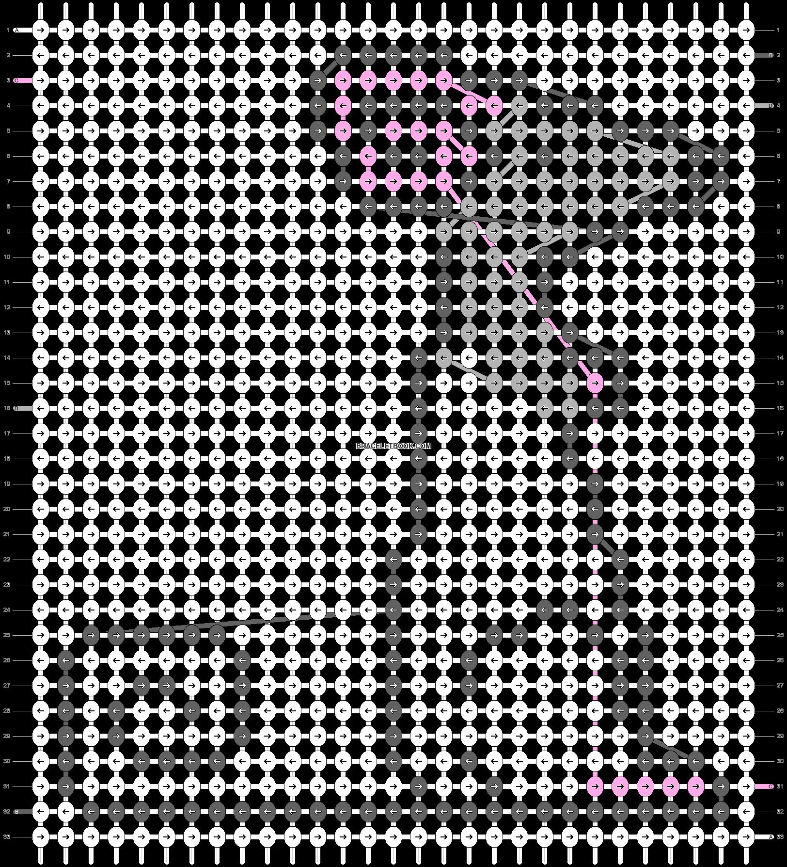 Alpha pattern #17585 pattern