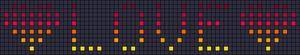Alpha pattern #17594