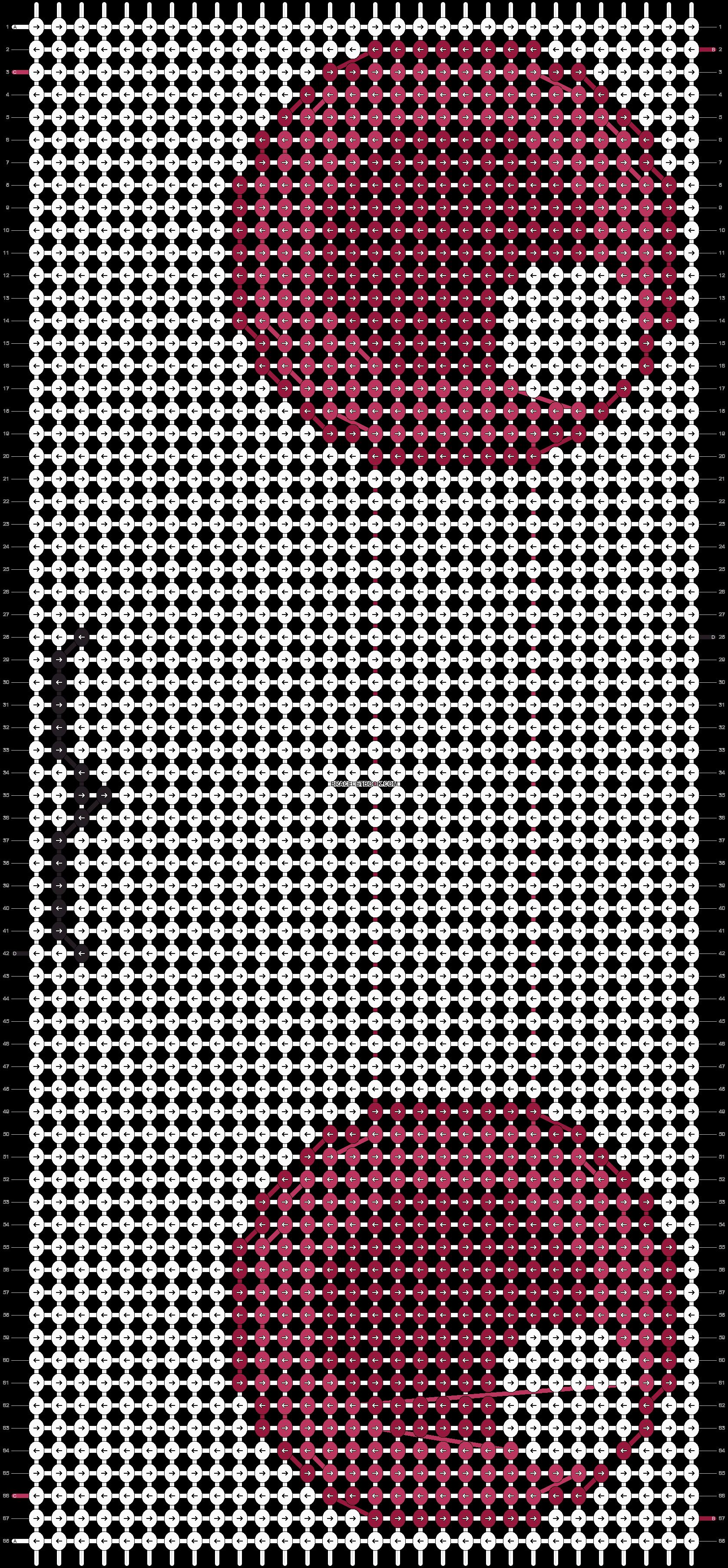 Alpha pattern #17597 pattern