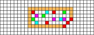 Alpha pattern #17604