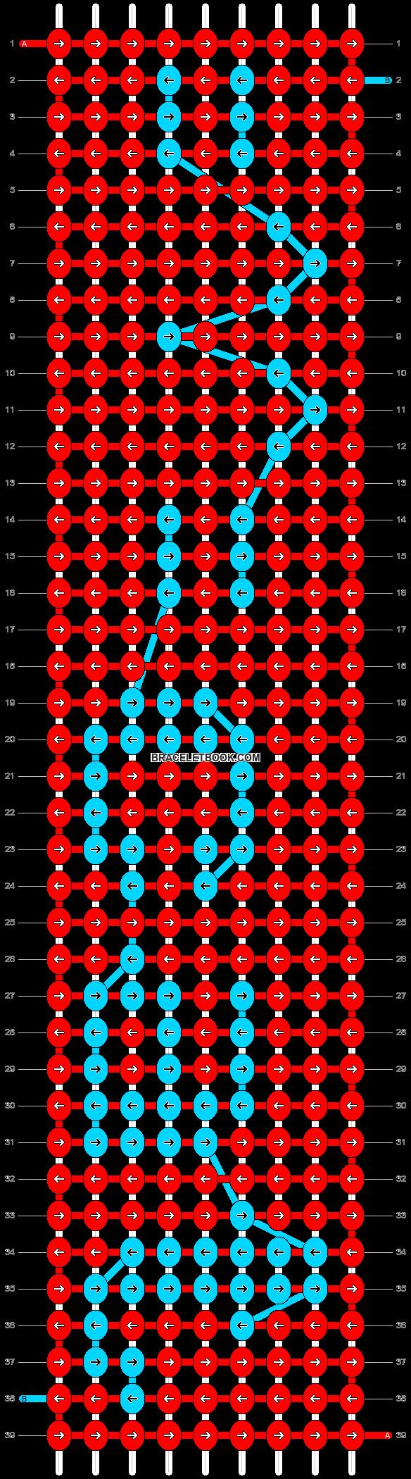 Alpha pattern #17605 pattern