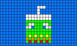 Alpha pattern #17606