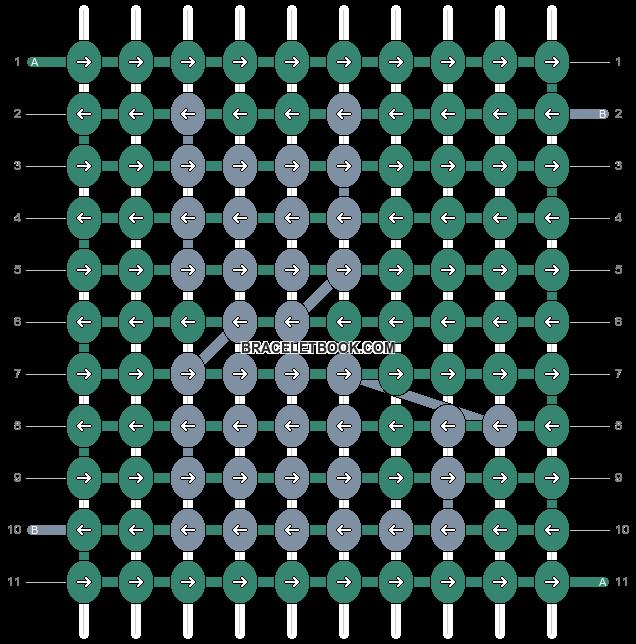 Alpha pattern #17621 pattern