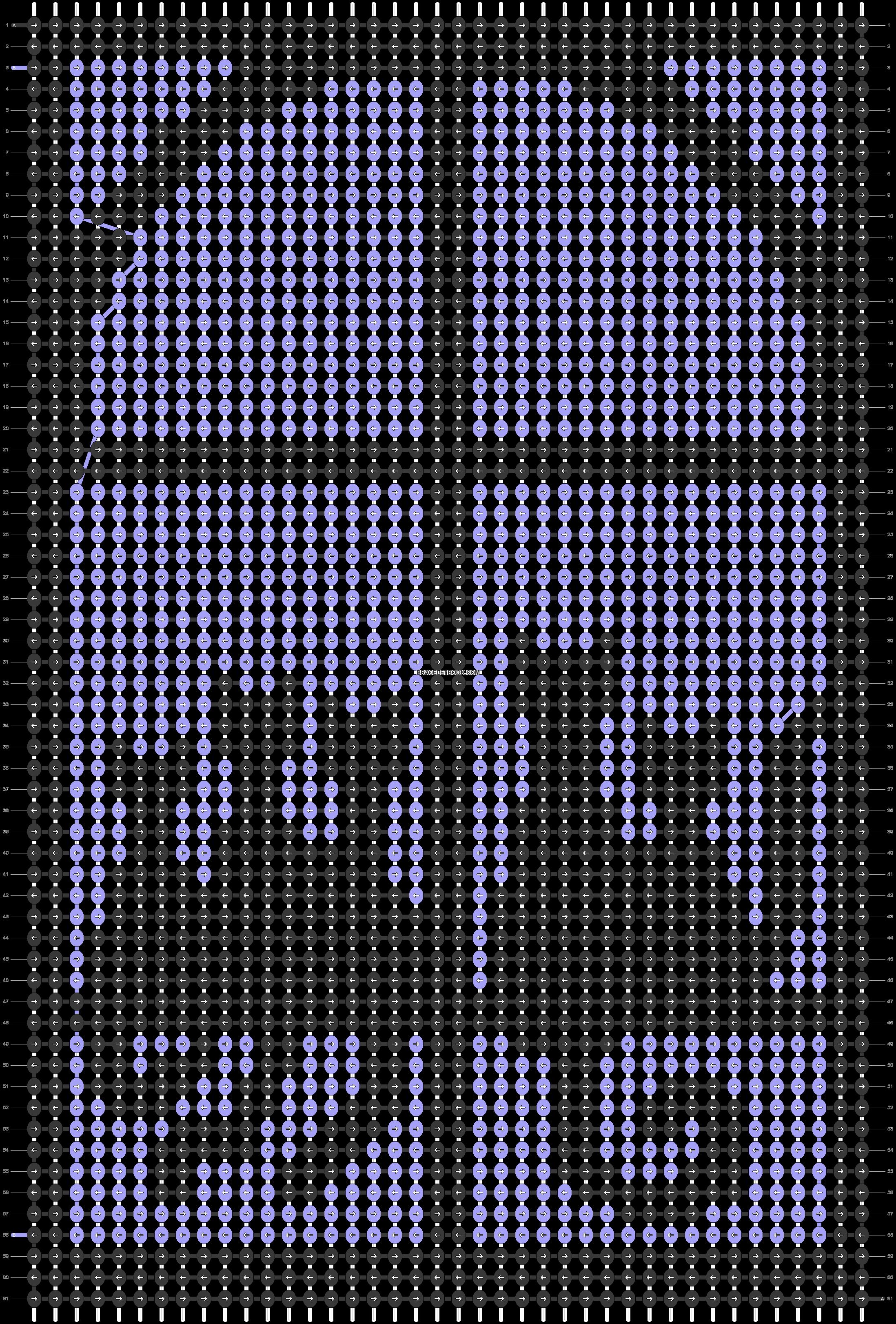 Alpha pattern #17646 pattern