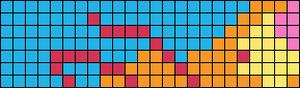 Alpha Friendship Bracelet Pattern #17652