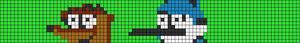 Alpha pattern #17660