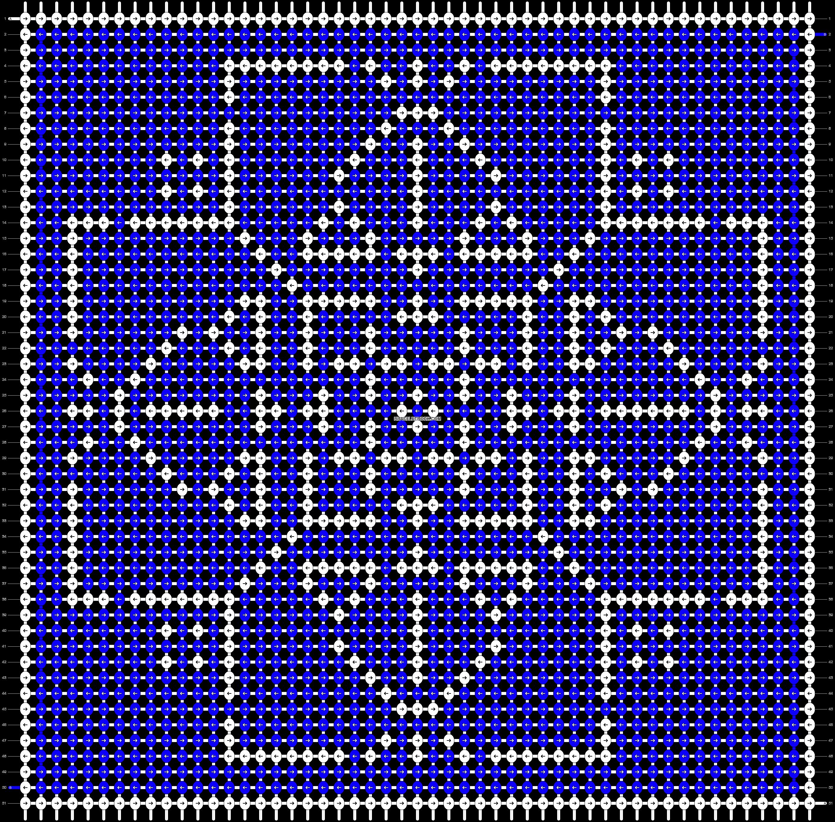 Alpha pattern #17661 pattern