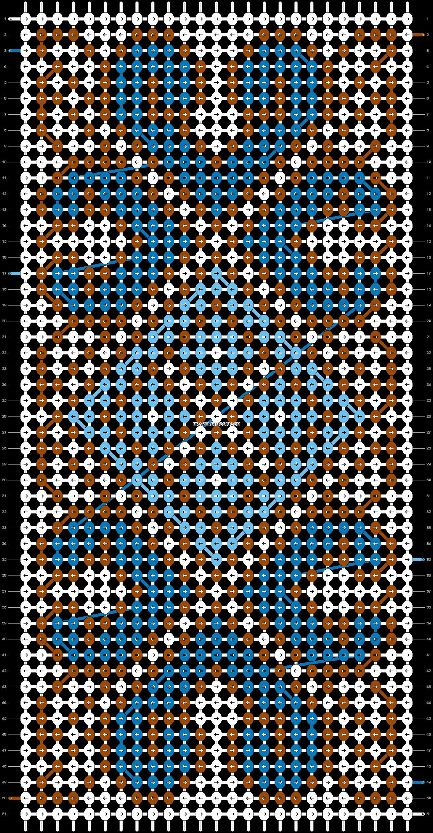 Alpha pattern #17663 pattern