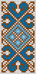 Alpha Friendship Bracelet Pattern #17663