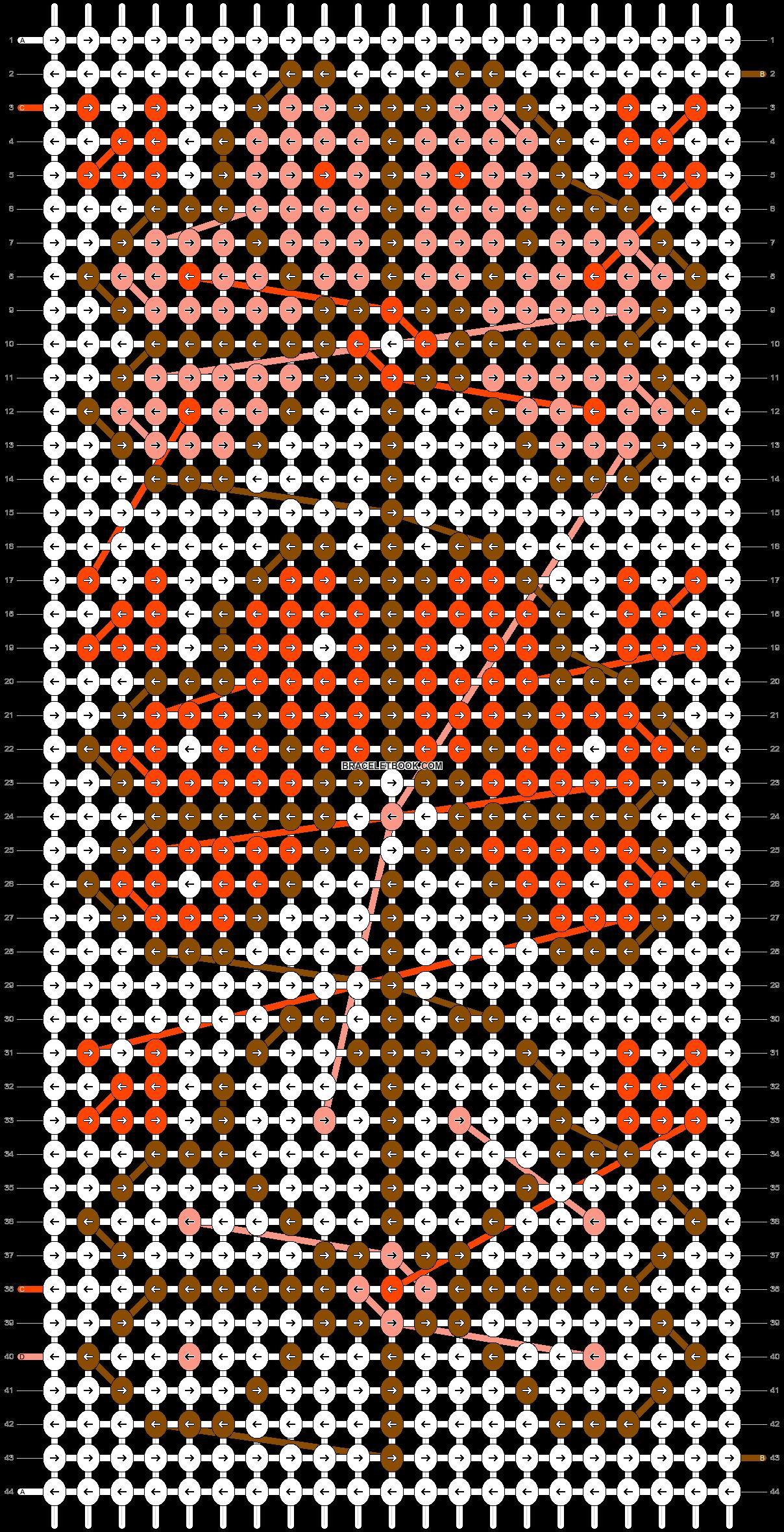 Alpha pattern #17664 pattern