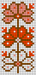 Alpha Friendship Bracelet Pattern #17664