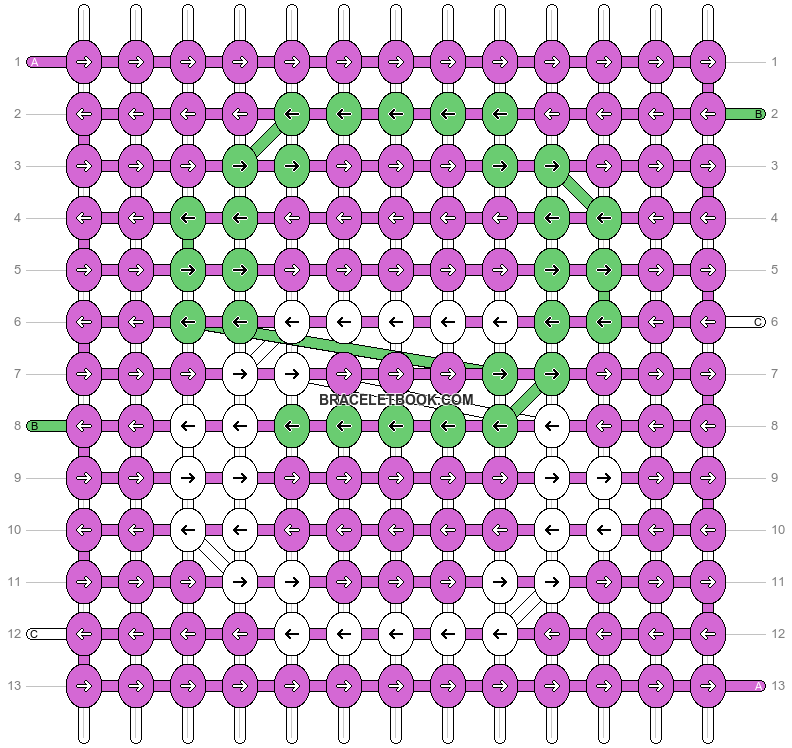 Alpha pattern #17671 pattern