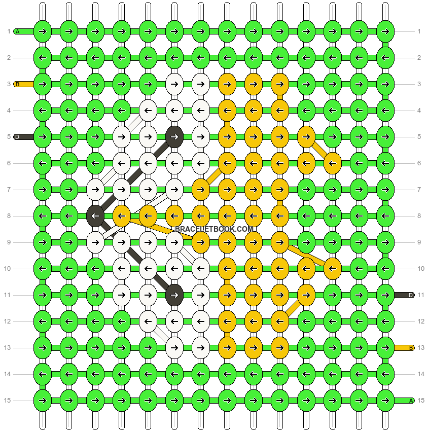 Alpha pattern #17672 pattern