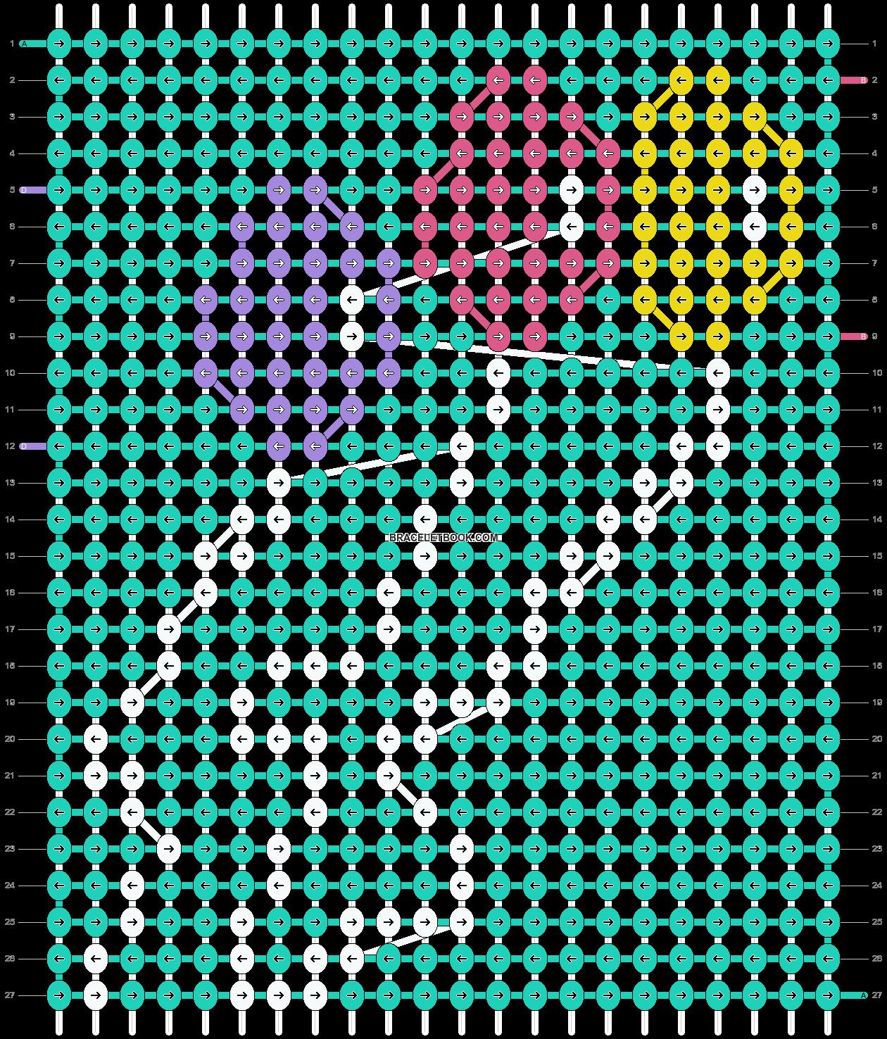 Alpha pattern #17673 pattern
