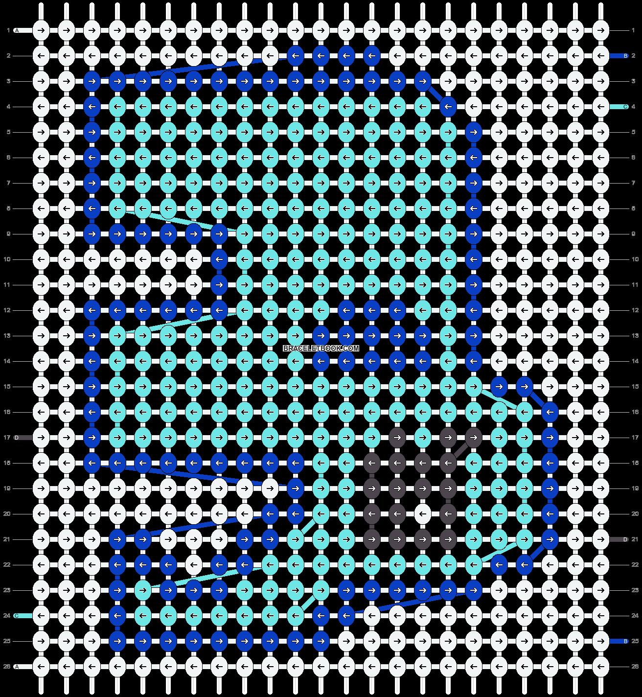 Alpha pattern #17674 pattern