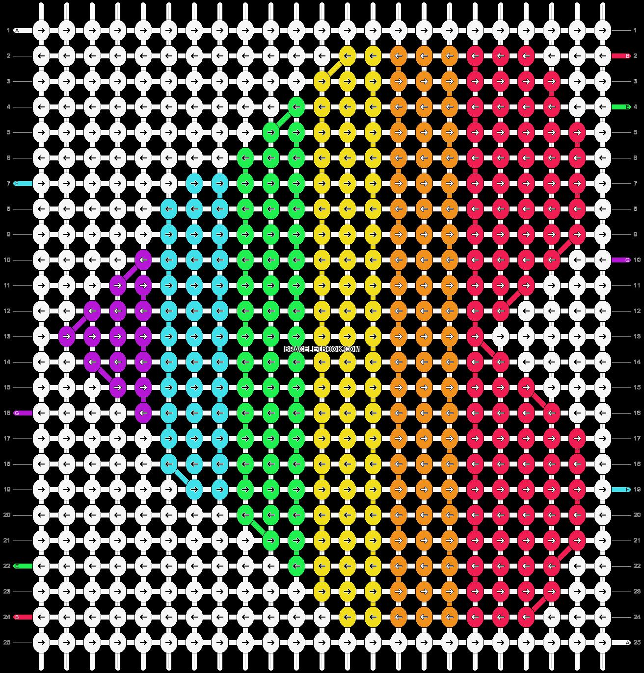 Alpha pattern #17676 pattern