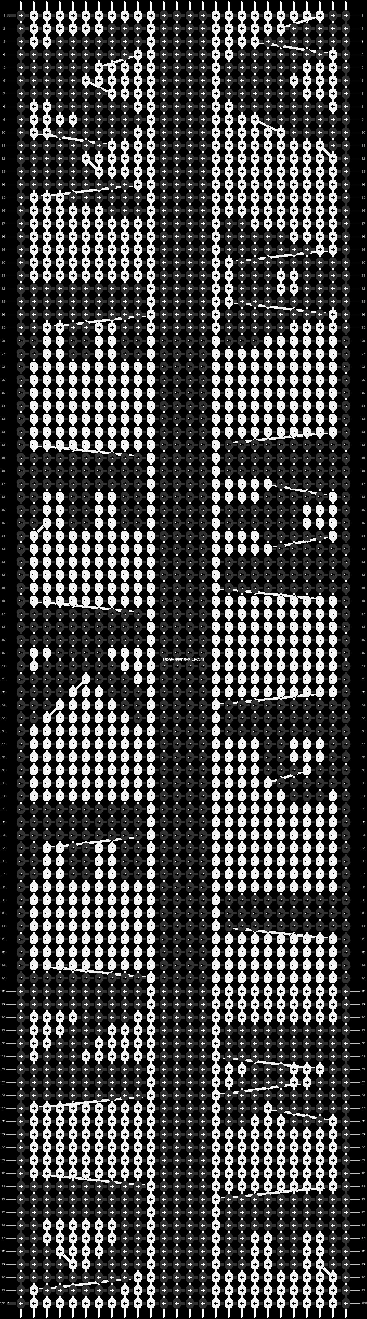 Alpha pattern #17680 pattern