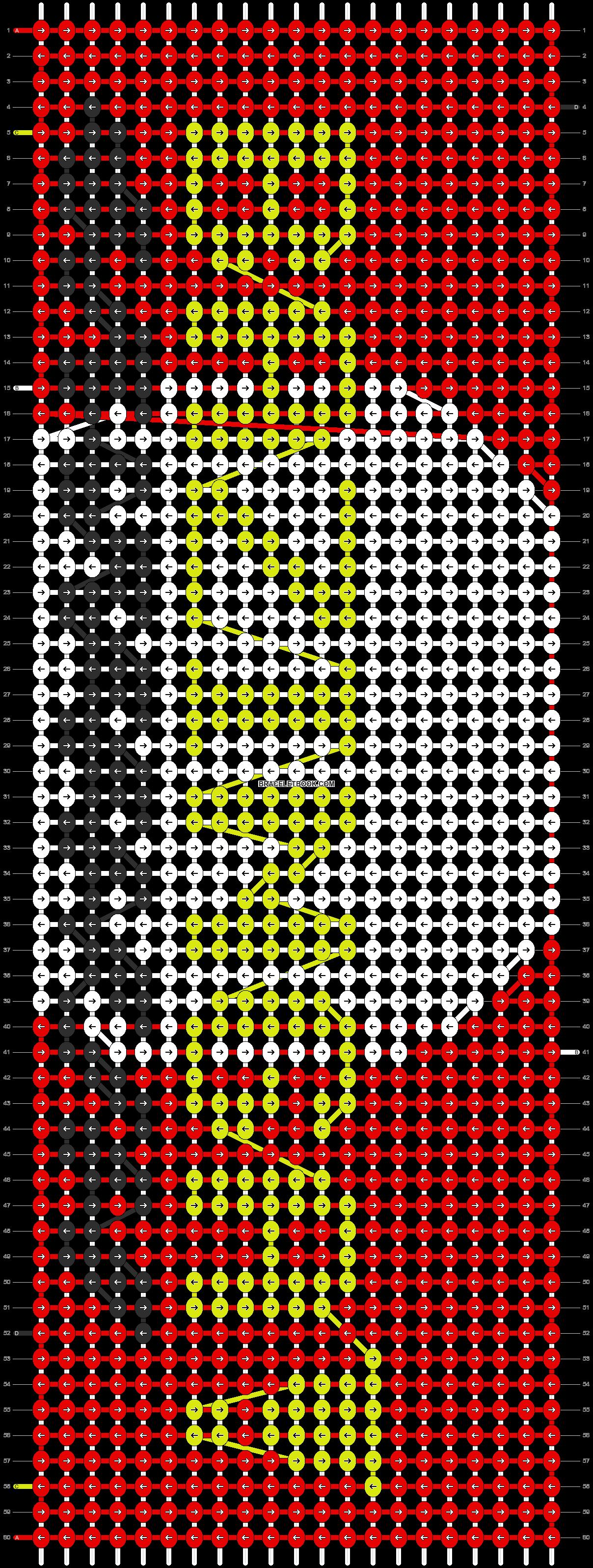 Alpha pattern #17688 pattern