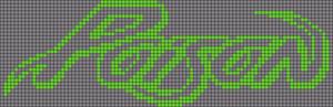 Alpha pattern #17693