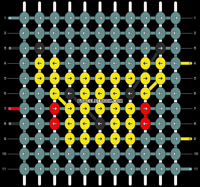 Alpha pattern #17694 pattern