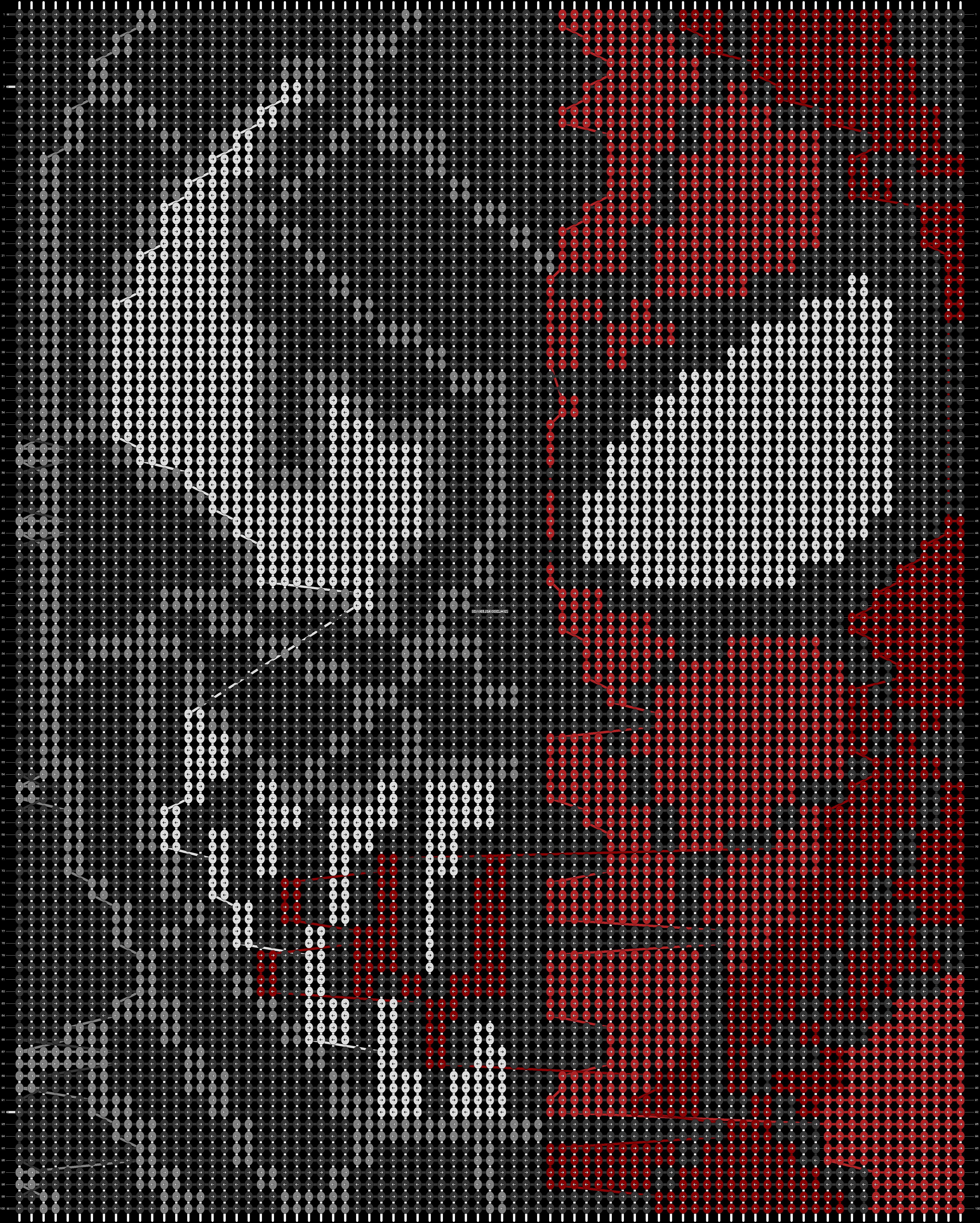 Alpha pattern #17698 pattern