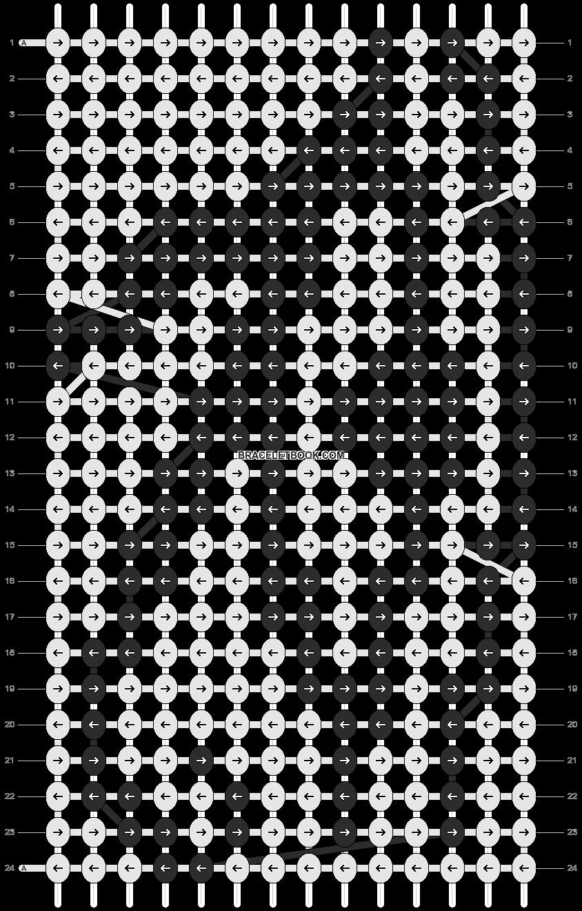 Alpha pattern #17708 pattern
