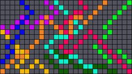 Alpha pattern #17737