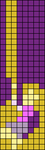 Alpha Friendship Bracelet Pattern #17742