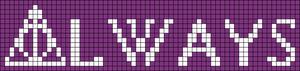 Alpha pattern #17763