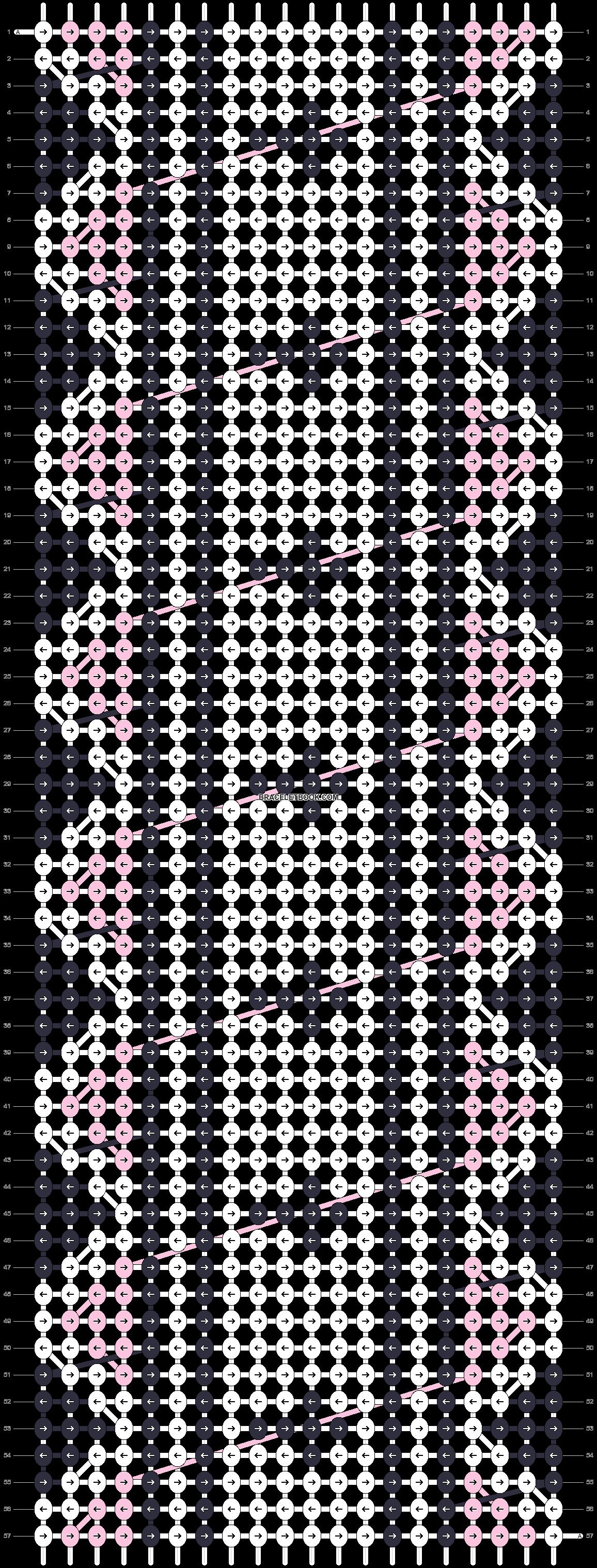 Alpha pattern #17784 pattern