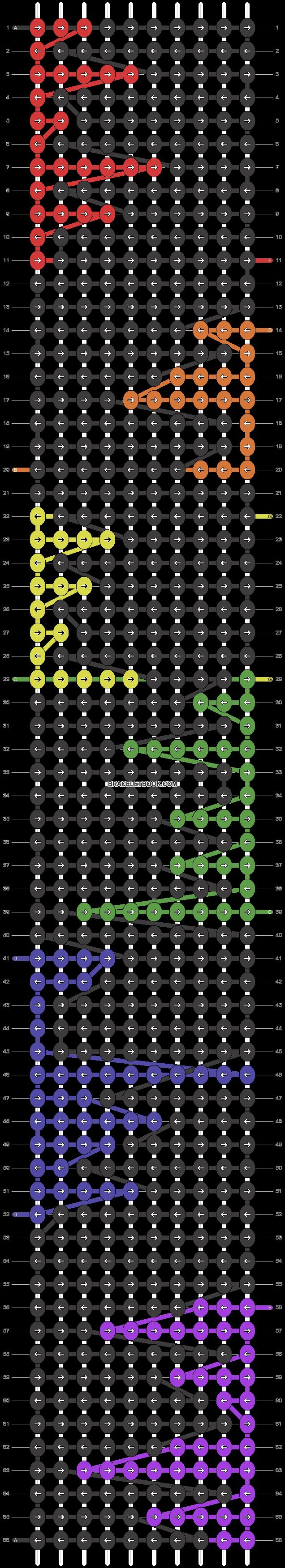 Alpha pattern #17791 pattern